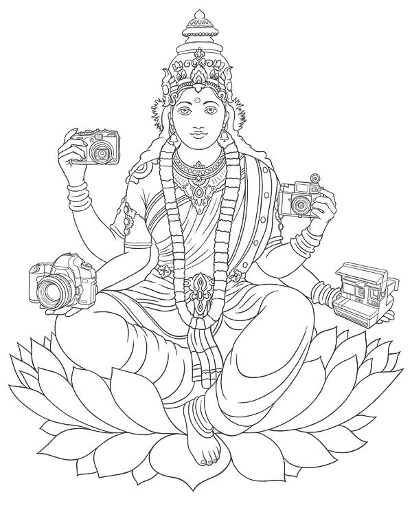 600x739 Saraswati On Behance