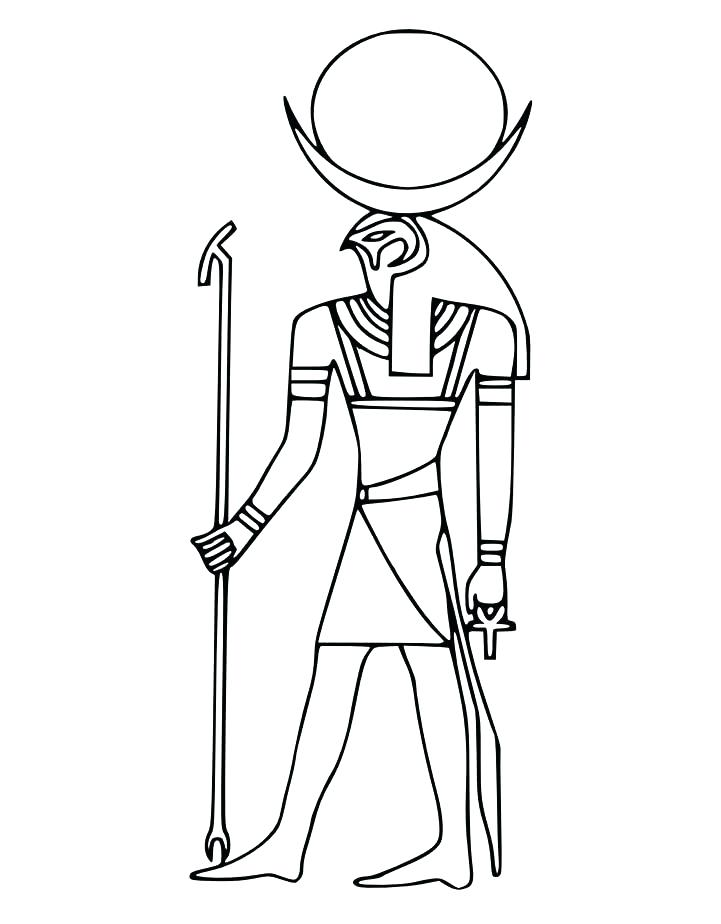 721x924 Egyptian Coloring Pages Sarcophagus A Sarcophagus From Egyptian