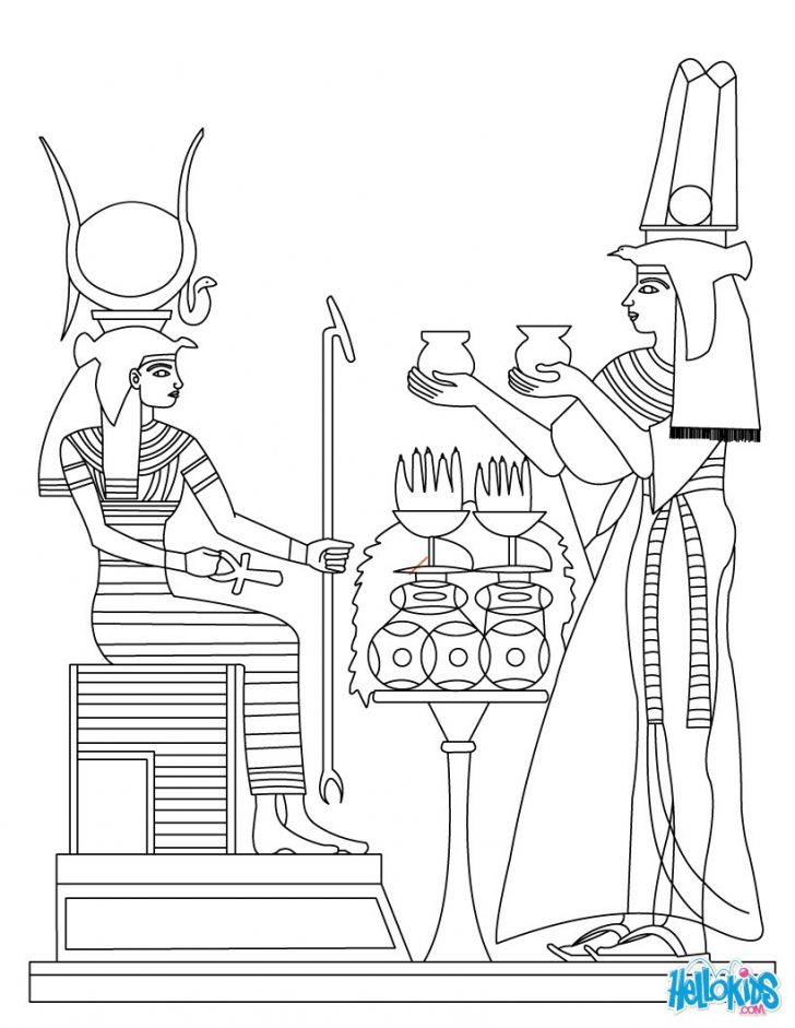 Sarcophagus Drawing At Getdrawingscom Free For Personal Use - Hieroglyphics-coloring-pages
