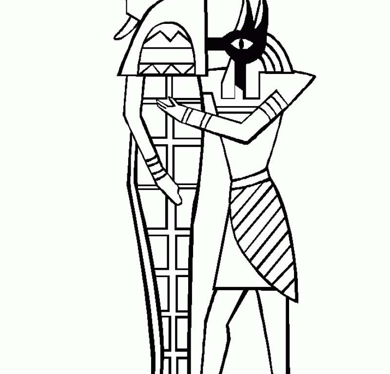 800x768 sarcophagus coloring pages