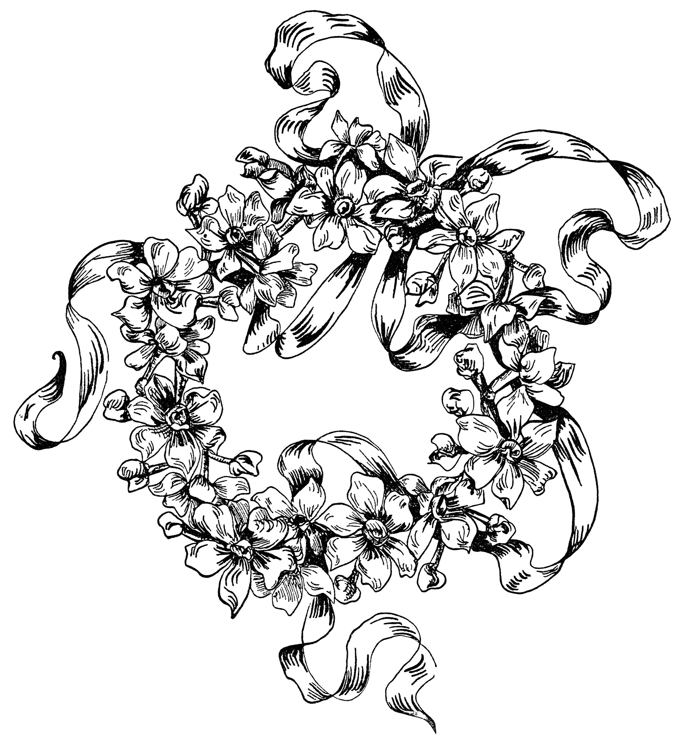 2267x2488 Drawing And Pencil Sketch Flowers And Other Pic In Embroidery Draw
