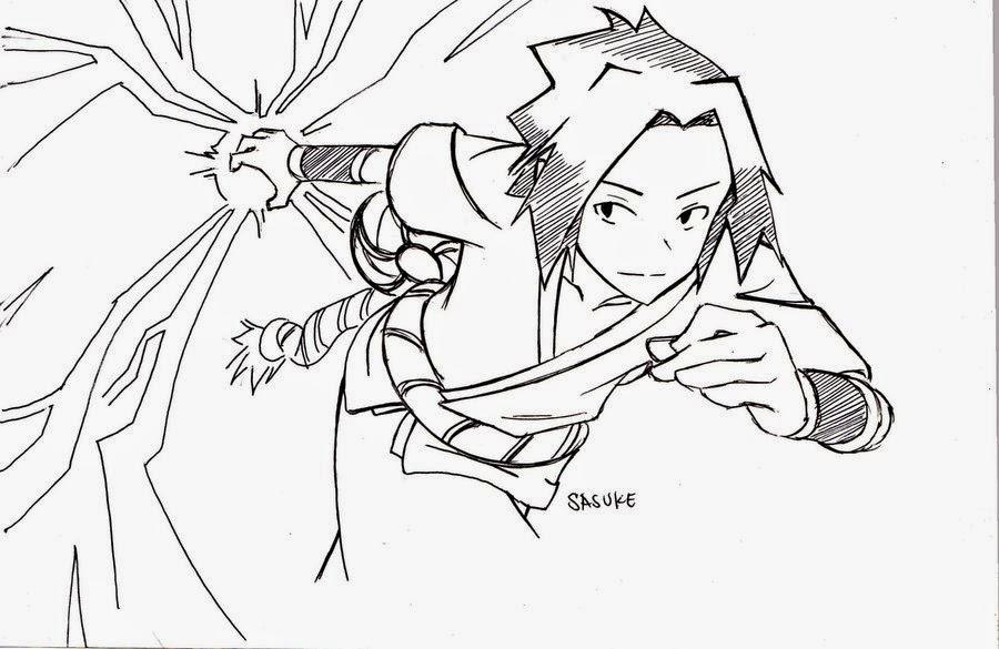900x585 Sasuke Uchiha Sketch Manga Drawing Skyline Manga
