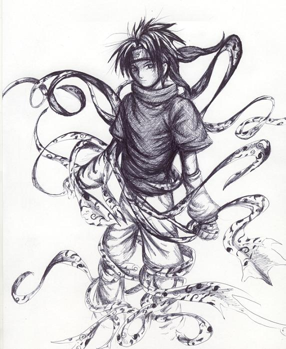 572x698 Sasuke My Fav Naruto Character By Soreiya