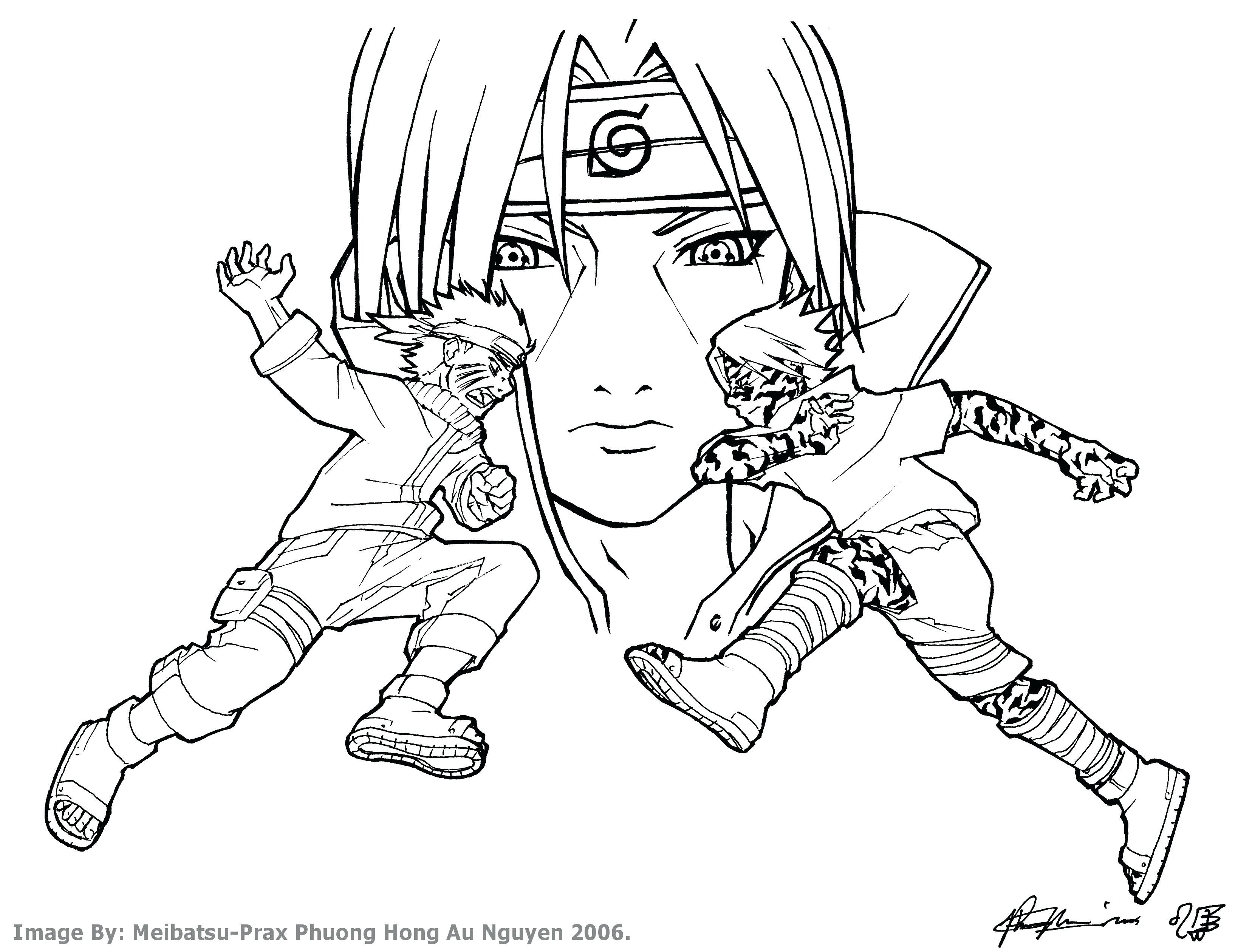 3276x2520 Printable Drawing Unique Coloring Pages For Kids Printable Sasuke