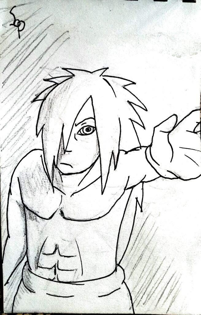 655x1024 Madara Sketch Naruto Amino