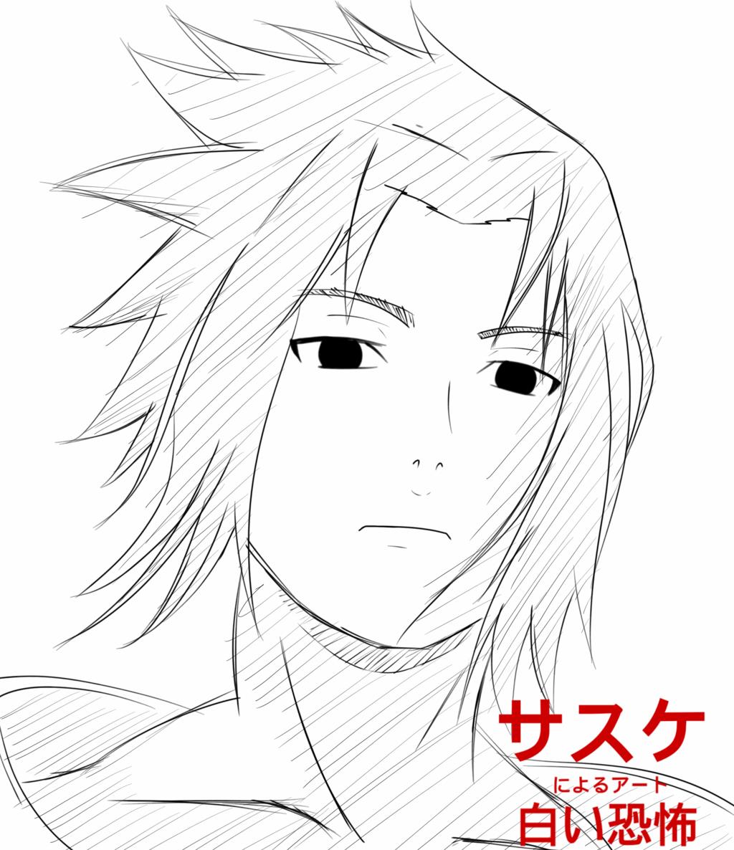 Sasuke Face Drawing At Getdrawings Free Download