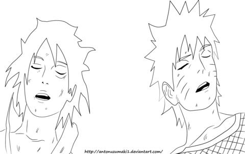480x302 Naruto 698 Naruto And Sasuke Coloring Page Free Printable