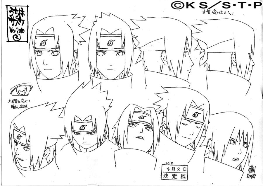 900x635 Sasuke Gennin Face (2010 Version) By Pablolpark