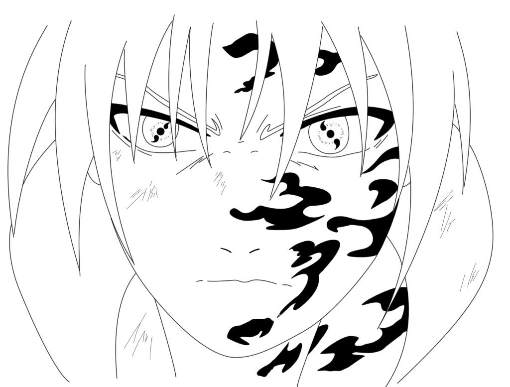 1024x777 Sharingan Sasuke By Fakewing