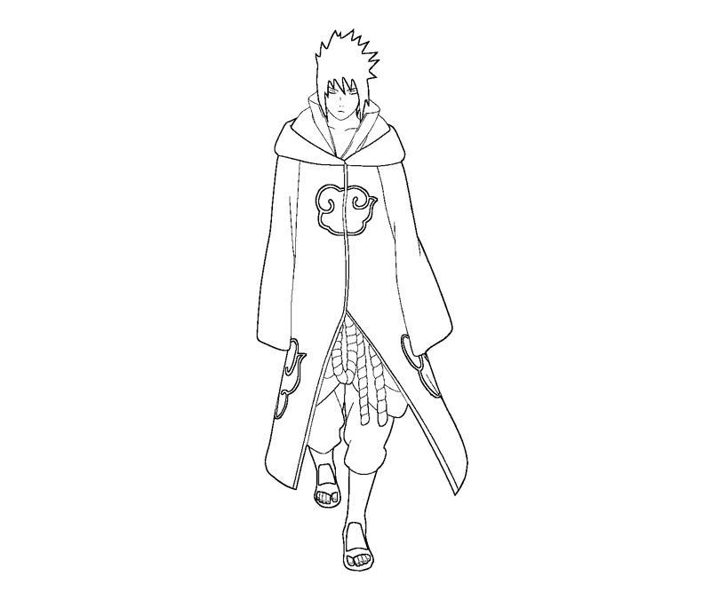 800x667 Sasuke Uchiha 22 Coloring Crafty Teenager