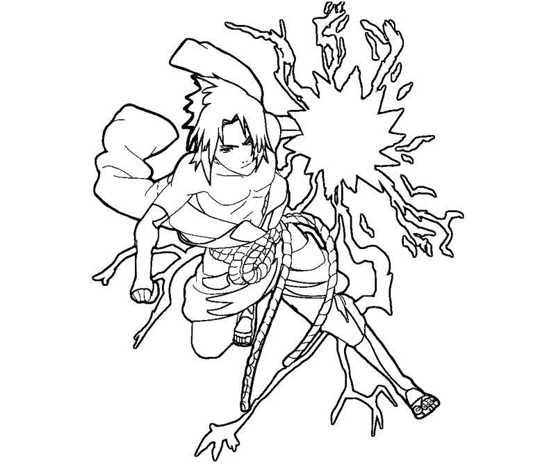 800x667 Sasuke Uchiha 6 Coloring Crafty Teenager