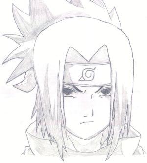 300x333 How To Draw Sasuke Uchiha Info