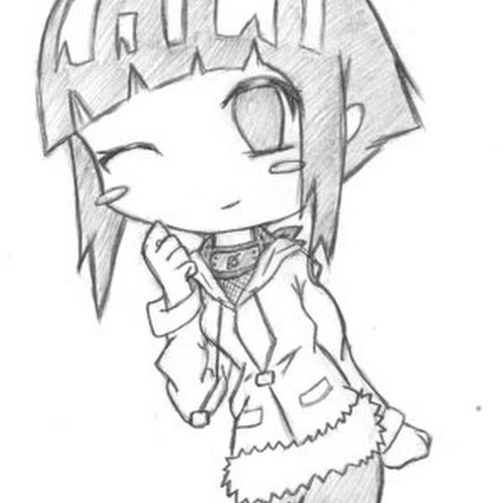 1024x1024 Anime Drawings In Pencil Chibi