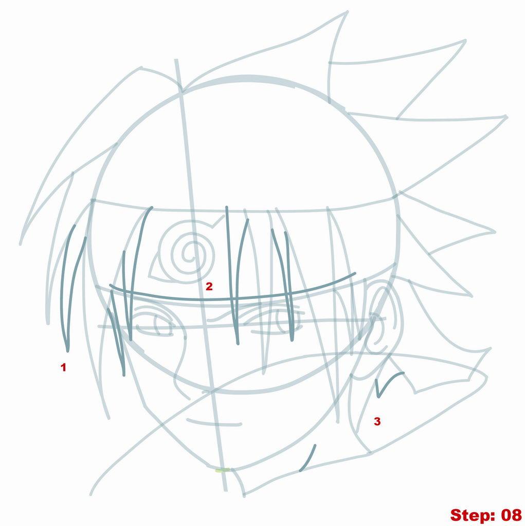 1021x1024 How To Draw Sasuke From Naruto