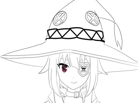 480x360 Konosuba How To Draw Megumin