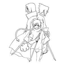 230x230 Top 25 Free Printable Naruto Coloring Pages Online