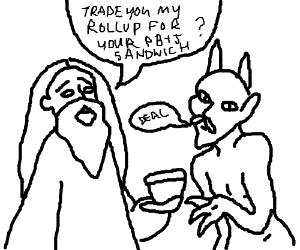 300x250 Satanic Cat Ritual