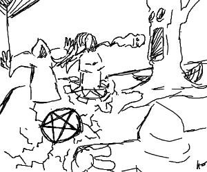 300x250 Satanic Fire
