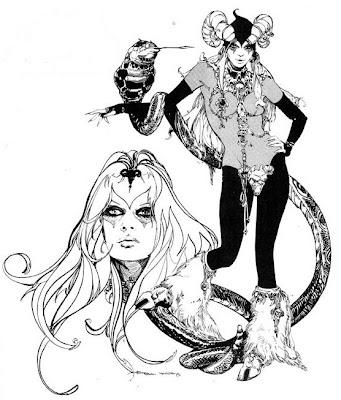 341x400 The Devil's Daughter Satanic Mojo