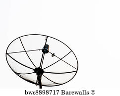 Satellite Dish Drawing