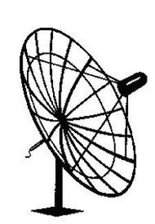 225x325 Satellite Dish Images Clip Art