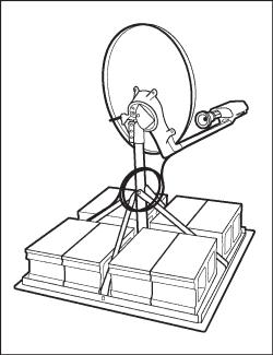 250x325 Satellite Dish Amp Internet Installation Process