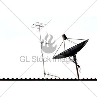 325x325 Satellite Dish Gl Stock Images