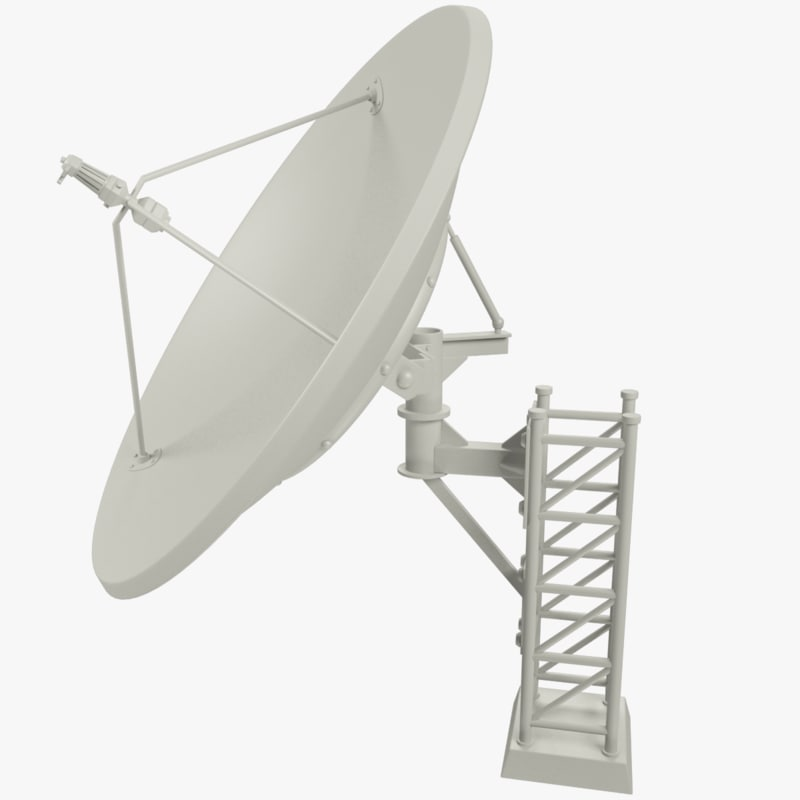 Satellite Dish Drawing At Getdrawings