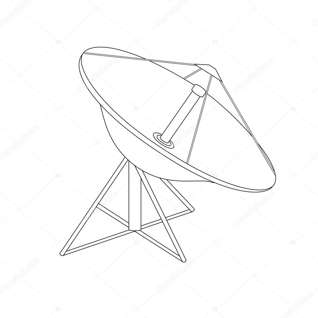 1024x1024 Satellite Dish Antenna Stock Photo Viktorijareut