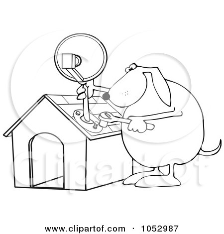 Satellite Drawing Clip Art At Getdrawings Com