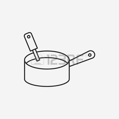 450x450 Pot Line Icon Royalty Free Cliparts, Vectors, And Stock