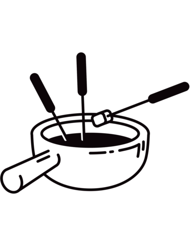 371x480 Swiss Fondue Coloring Page Free Printable Coloring Pages
