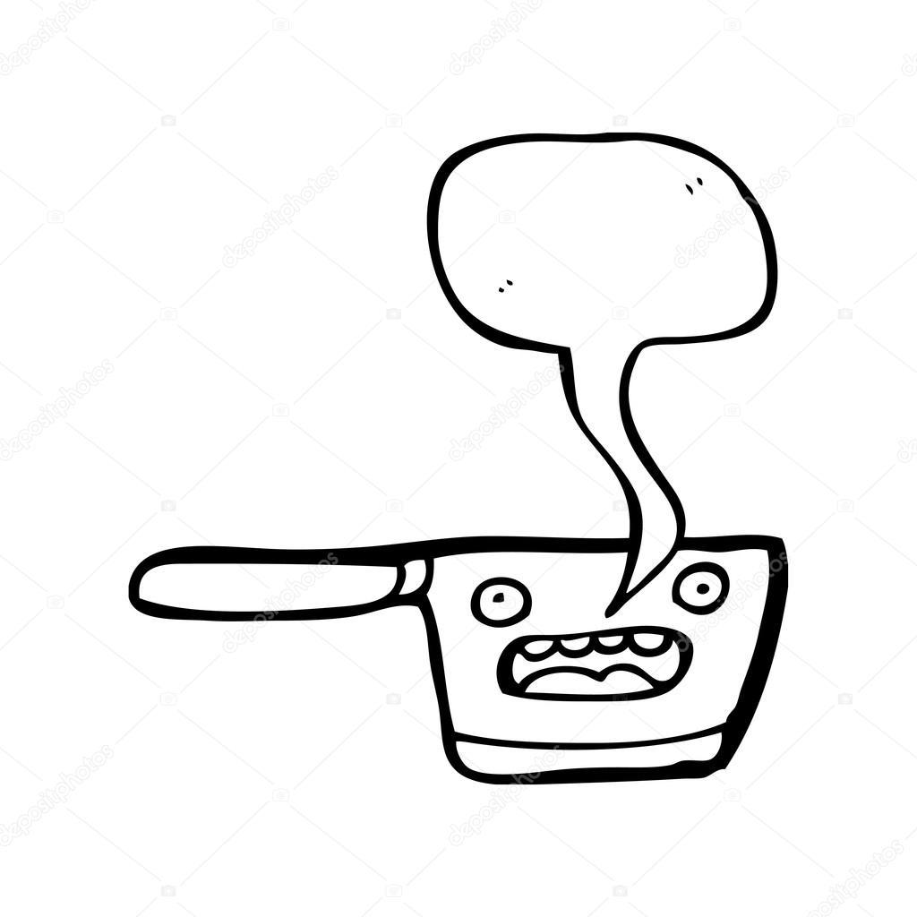 1024x1024 Kitchen Saucepan Stock Vector Lineartestpilot