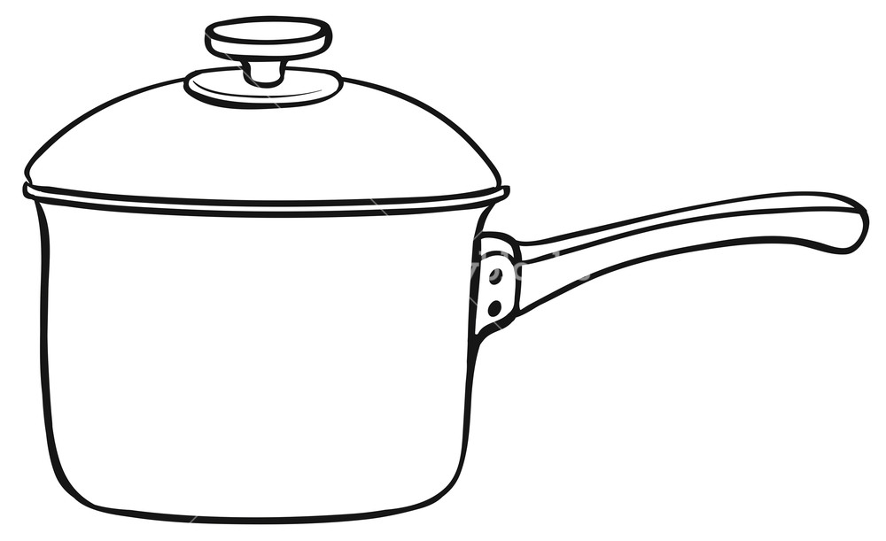 1000x611 Close Up One Cooking Pot With Lid Royalty Free Stock Image