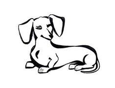 235x179 Resultado De Imagen Para Drawing Sausage Dogs Dachshunds