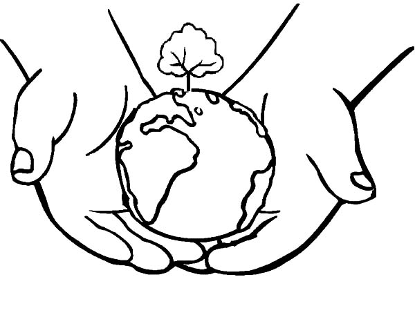 600x456 Save The Earth Coloring Pages