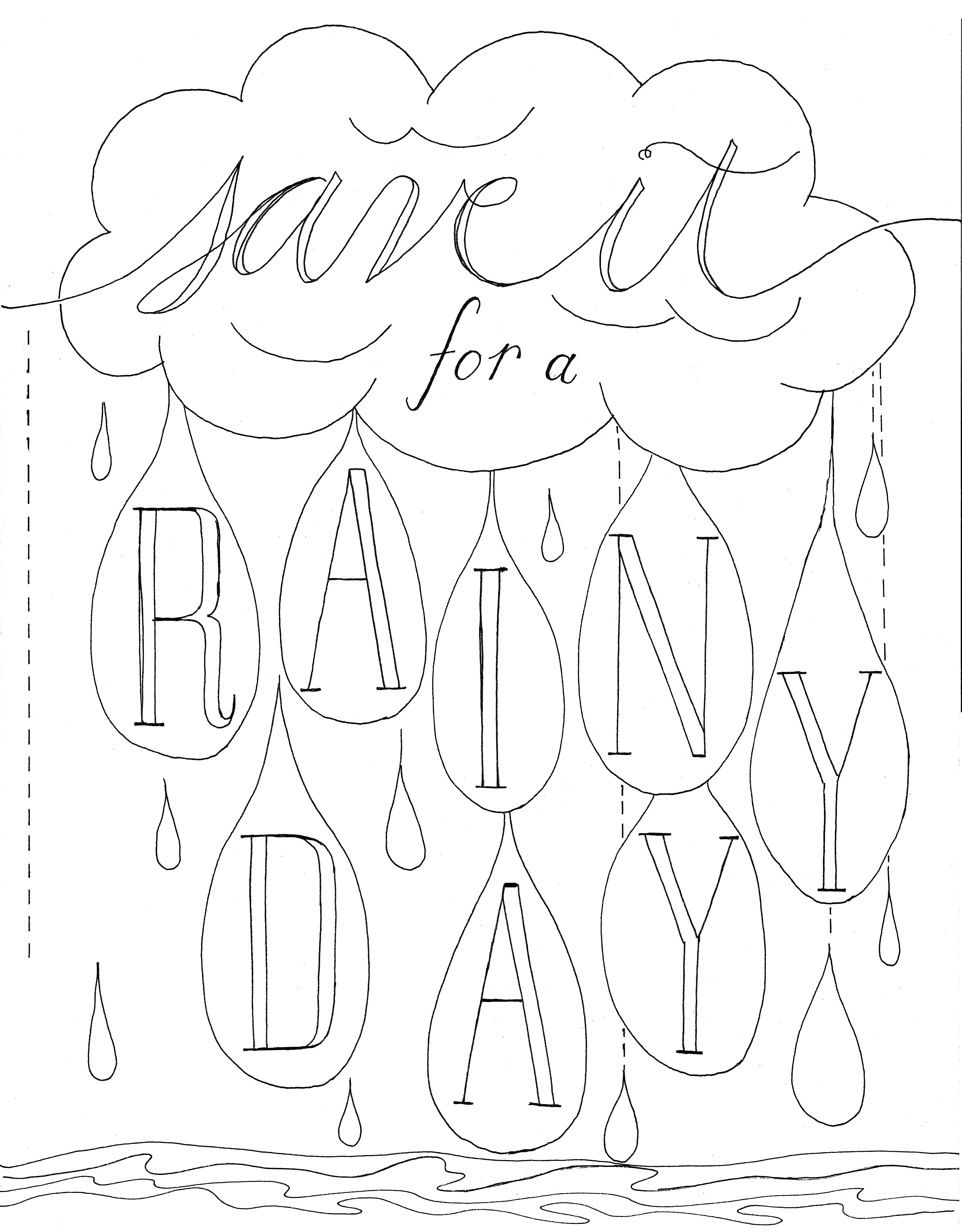 5414x6932 Save It For A Rainy Day Jennifer Hines Designs