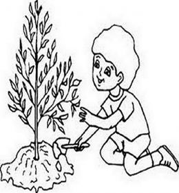 260x281 Save The Earth Day Kids Coloring Pages Free Colouring Pictures