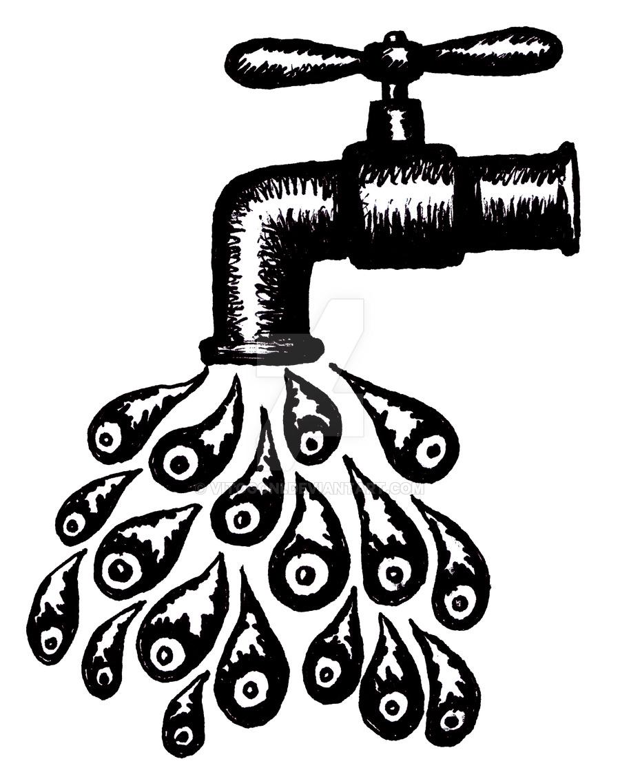 900x1118 Save Water Graphic Art By Vitogoni