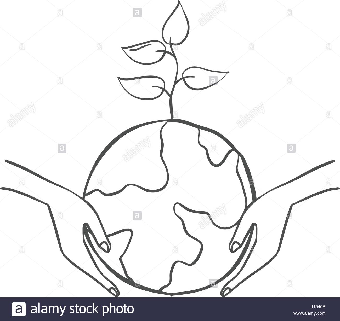 1300x1229 Save World With Tree Doodles Stock Vector Art Amp Illustration