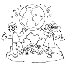 230x230 Download Save The Earth Coloring Pages
