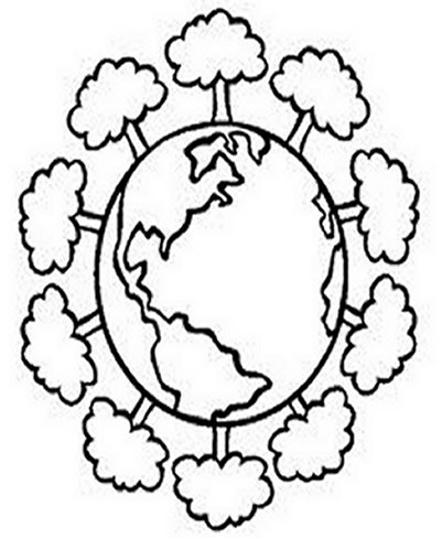 401x489 Save The Earth Day Kids Coloring Pages Free Colouring Pictures