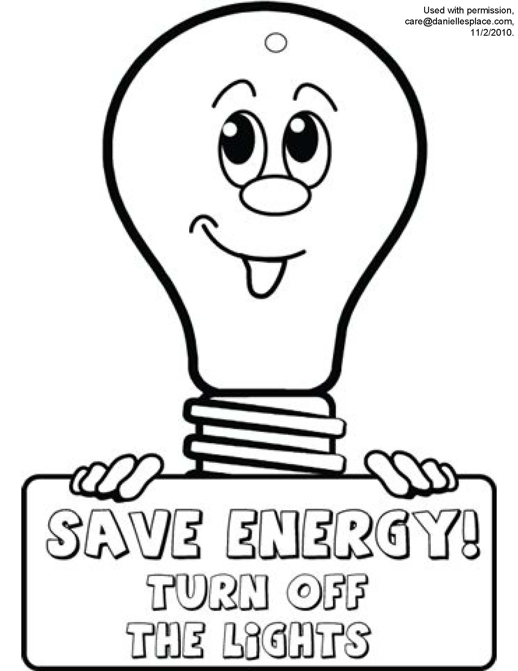 save electricity drawing at getdrawings com