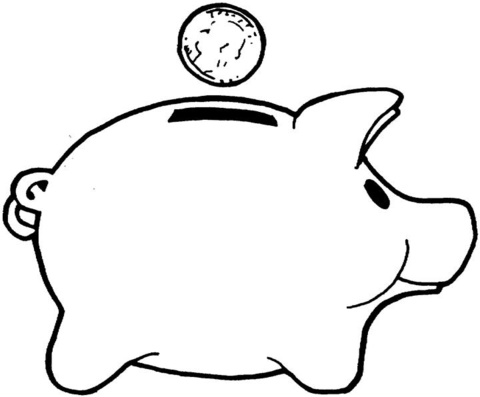 480x397 Saving Money Coloring Page Free Printable Coloring Pages