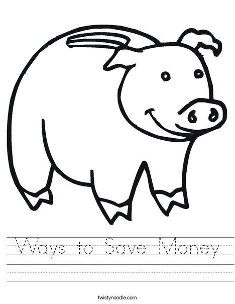468x605 Ways To Save Money Worksheet