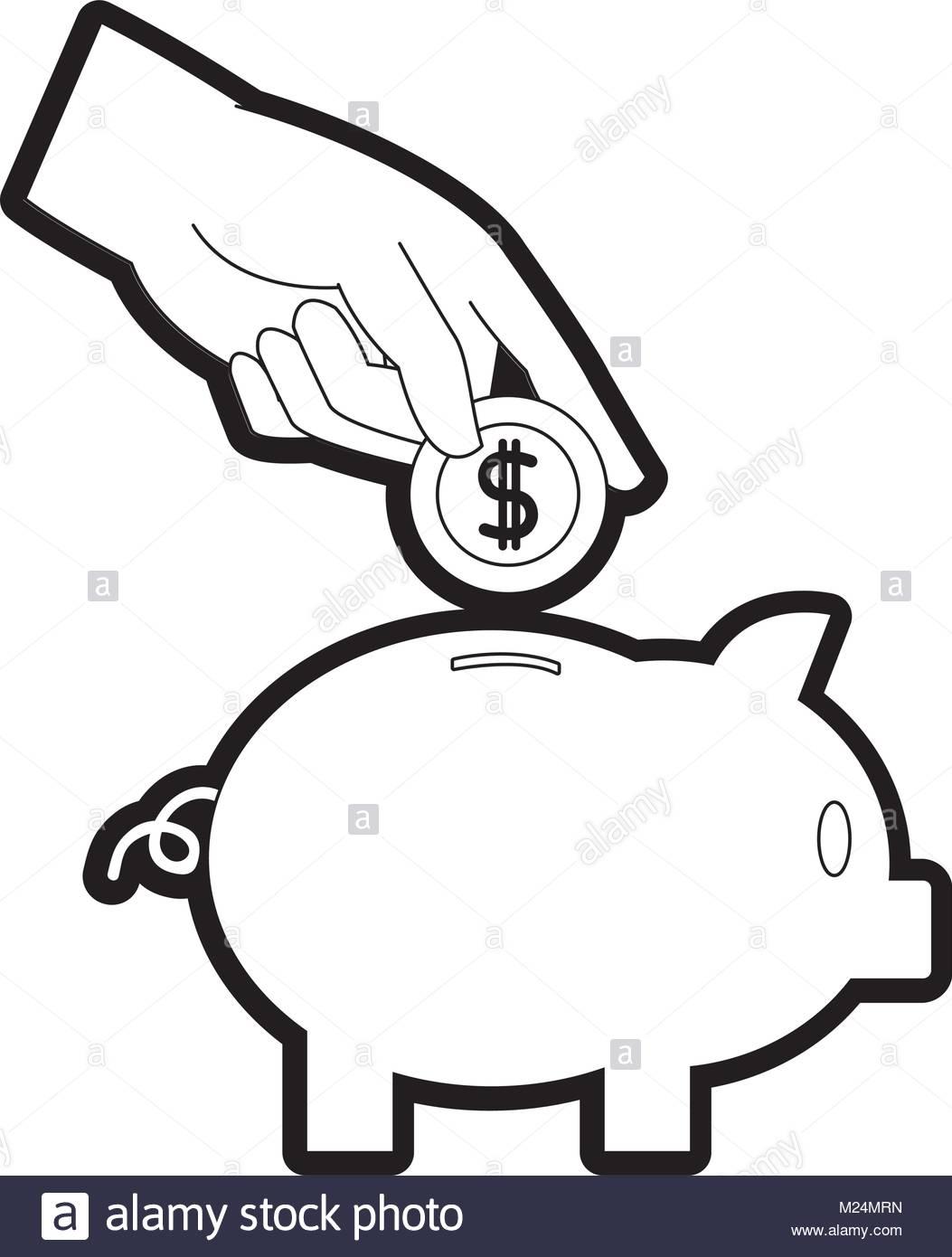 1053x1390 Coin Money Increase Stock Vector Images