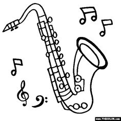 Sax Drawing