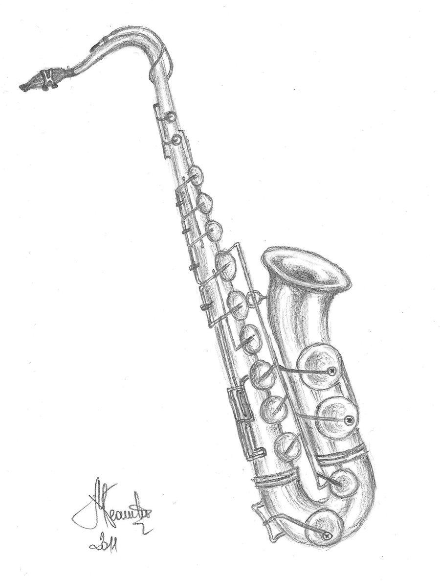 900x1187 Saxophone By Marcelaneamtu
