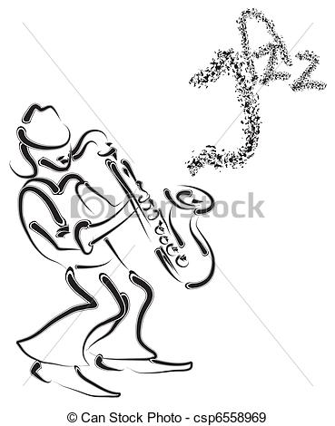 369x470 Saxophone Painting Illustrations And Stock Art. 489 Saxophone