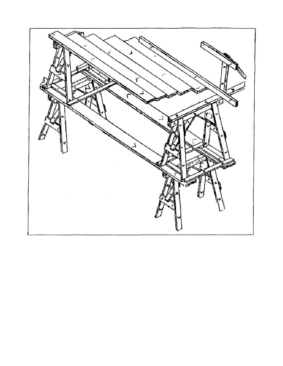 918x1188 Figure 1 11. Horse Scaffold, Two Tiers (Maximum Height Two Tiers